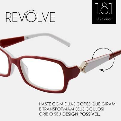 Lançamento de um novo modelo da marca 1.8.1 Eyewear na eÓtica.